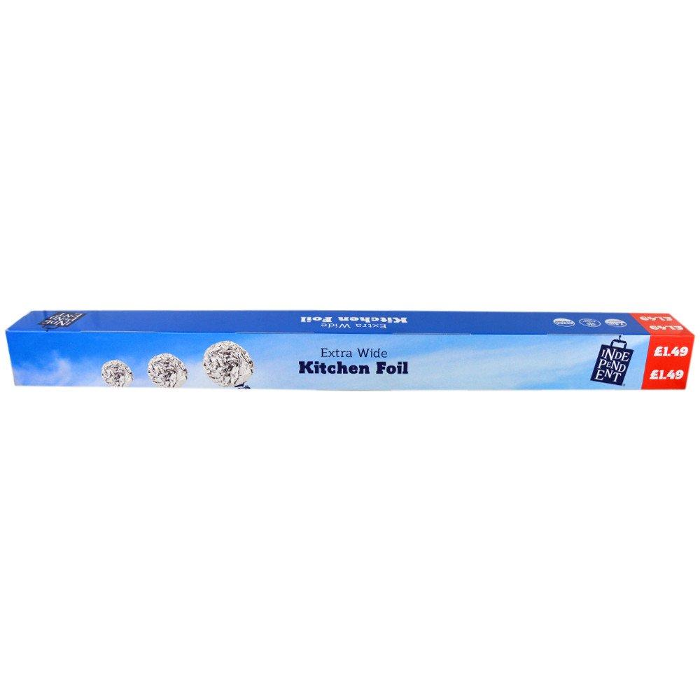 Independent Extra Wide Kitchen Foil 45m x 450mm