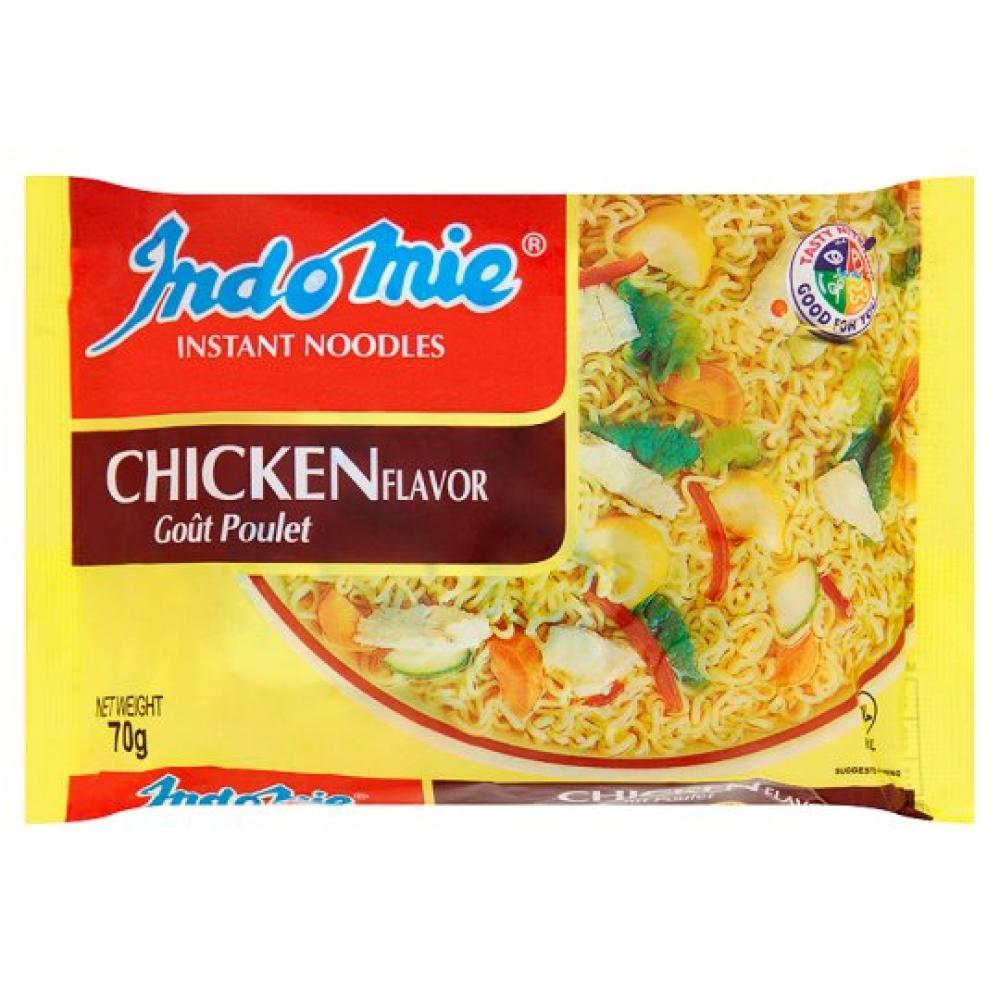 Indomie Chicken Flavour Instant Noodles Soup 70g