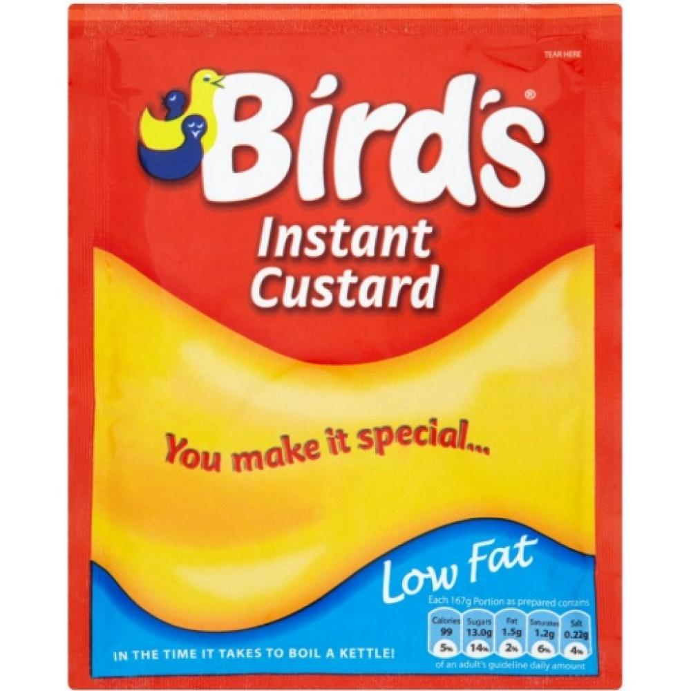 Birds Instant Custard Mix Low Fat 75g