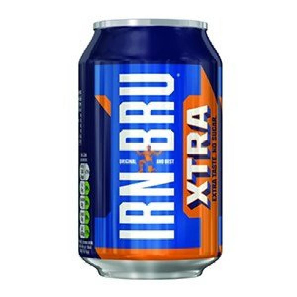 Irn Bru Xtra Soda330 ml