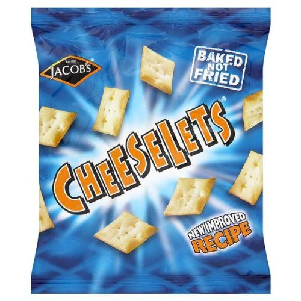 Jacobs Cheeselets 30g