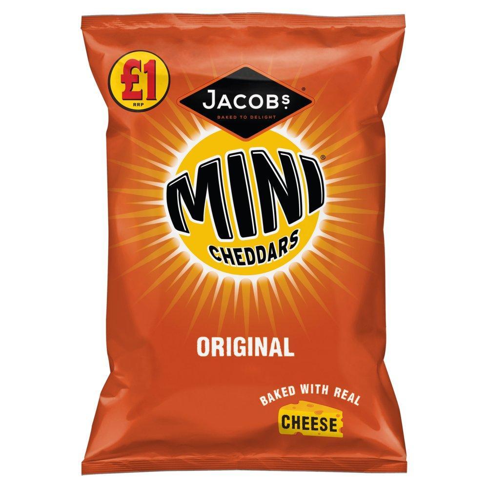 Jacobs Mini Cheddars Original 105g