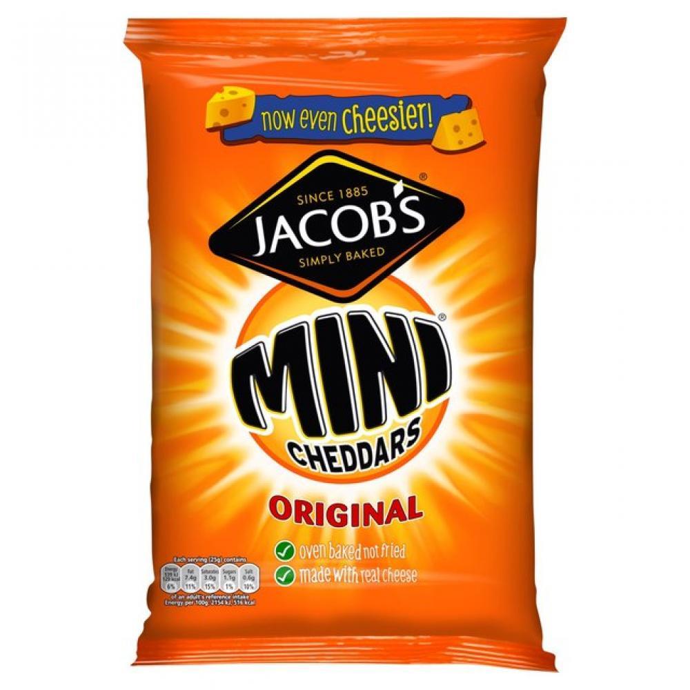 Jacobs Mini Cheddars Original 200g