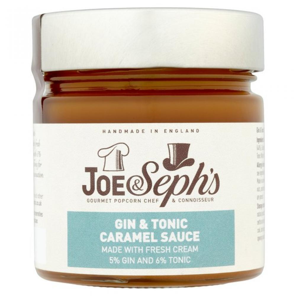 Joe and Sephs Gin and Tonic Caramel Sauce 230g