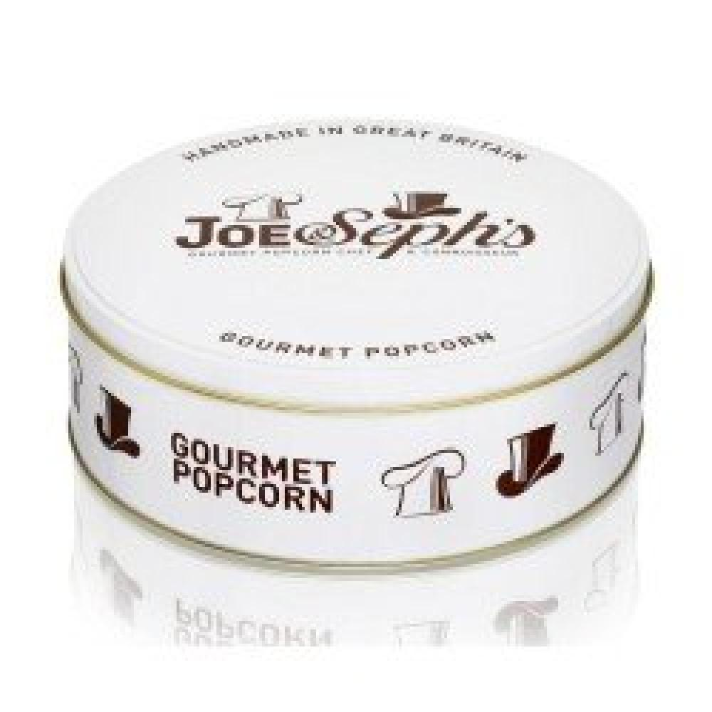 Joe and Sephs Popcorn Gift Tin 2x95g