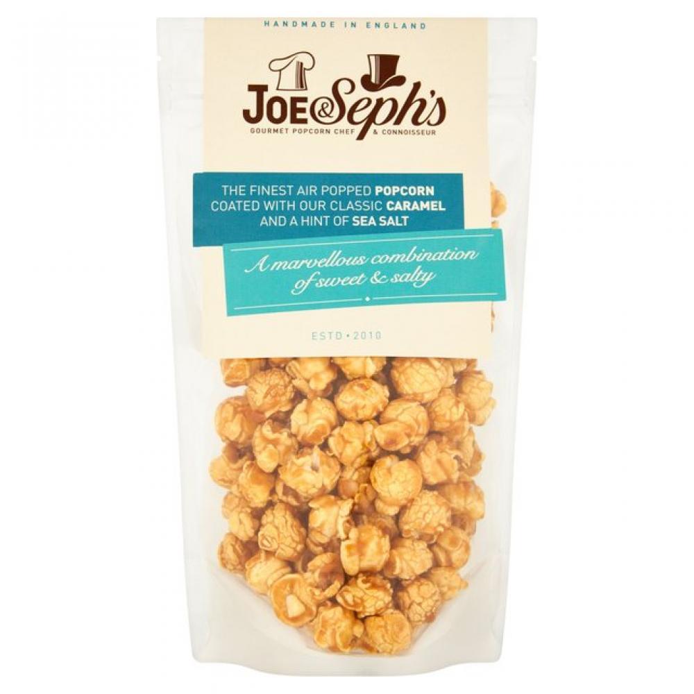 Joe and Sephs Salted Caramel Popcorn 80g