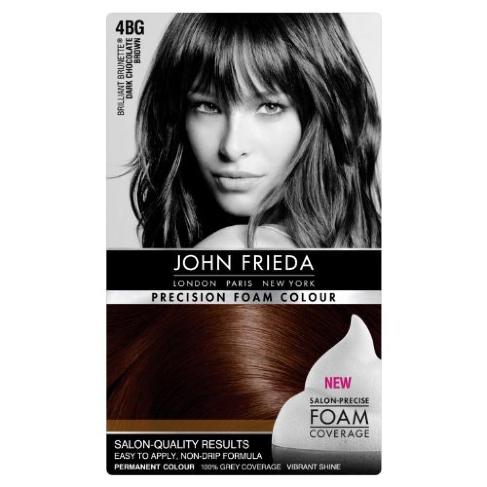 John Frieda Precision Foam Colour Number 4BgDark Chocolate Brown