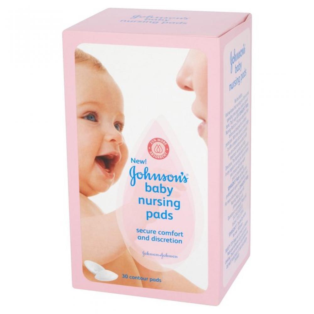 Johnsons Baby Nursing Pads Pack of 30