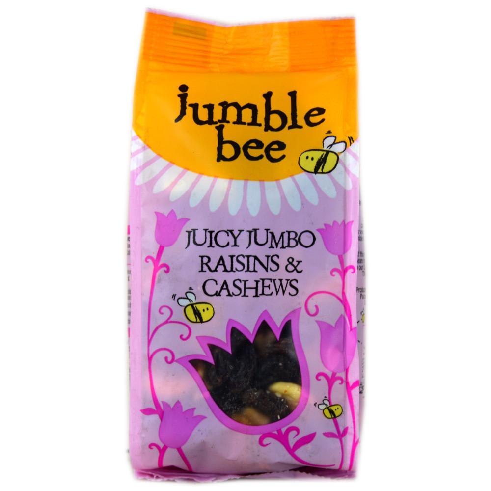 Jumble Bee Raisins and Cashews 175g