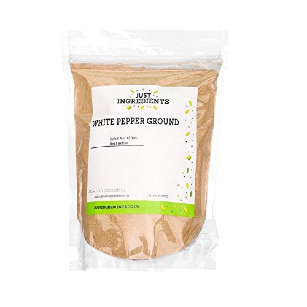 JustIngredients White Pepper Ground 500g