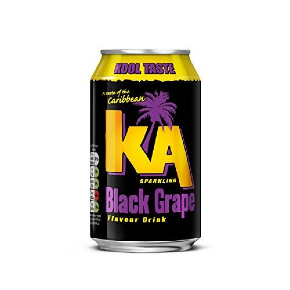 KA Sparkling Black Grape Can 330 ml