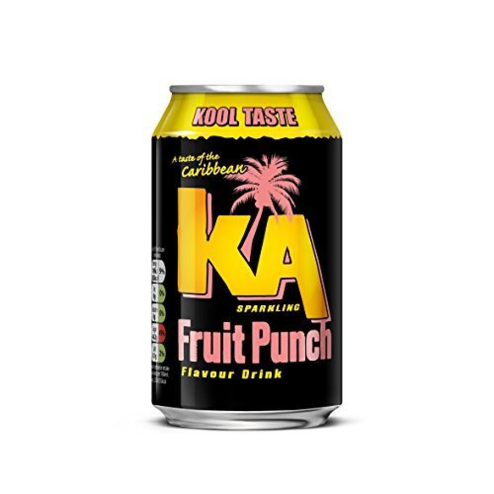 KA Sparkling Fruit Punch Cans 330 ml