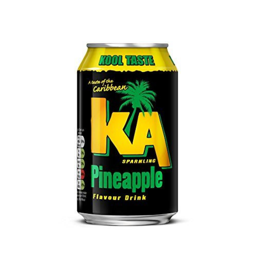 KA Sparkling Pineapple Can 330ml