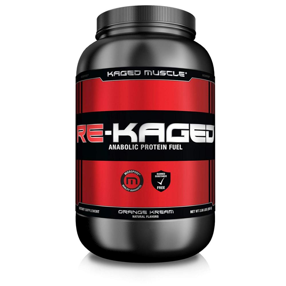 Kaged Muscle Re-Kaged Anabolic Protein Fuel - Orange Kream 936g