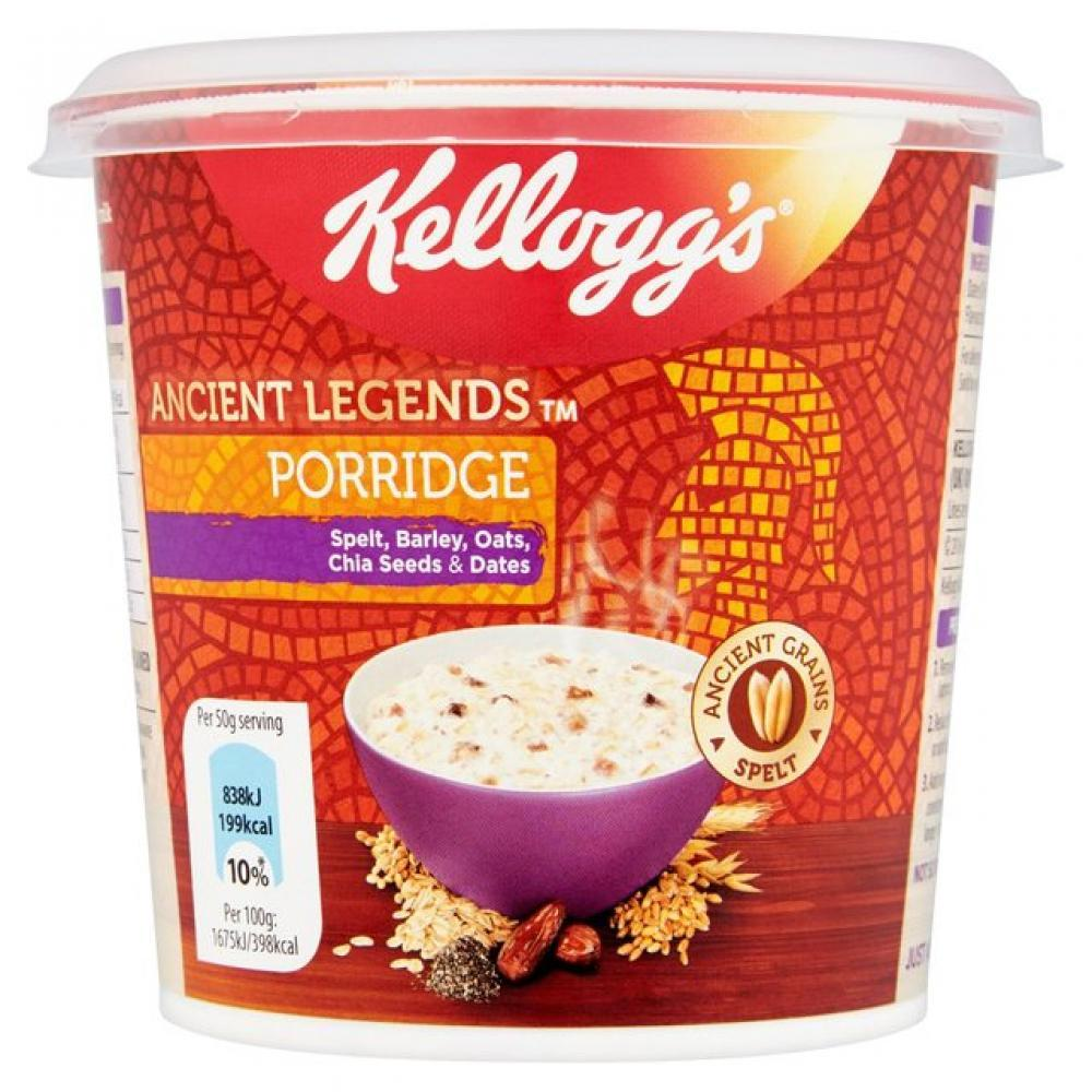 Kelloggs Ancient Legends Porridge 50g 50g 50g
