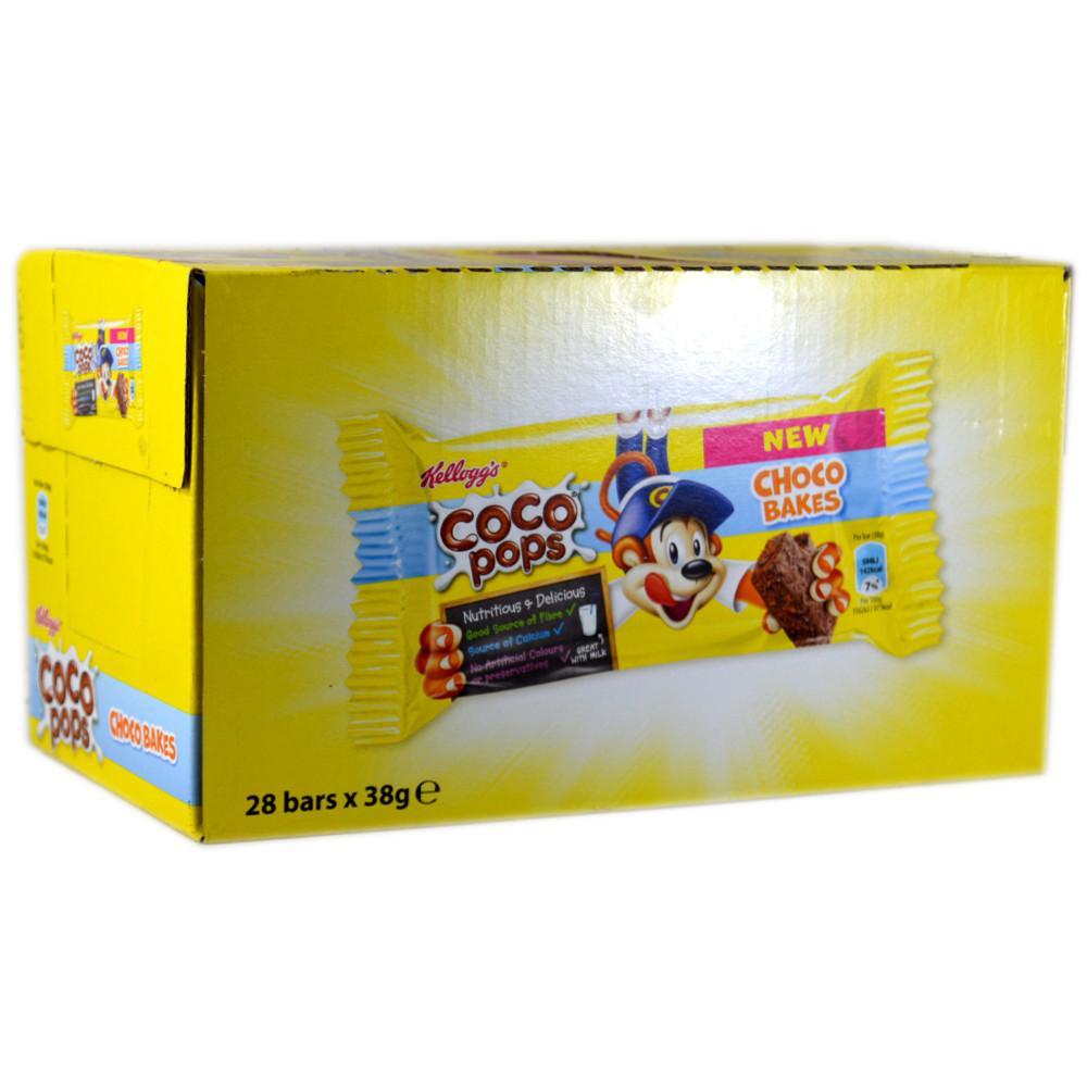 CASE PRICE  Kelloggs Coco Pops Blocks Bars 36g x 28