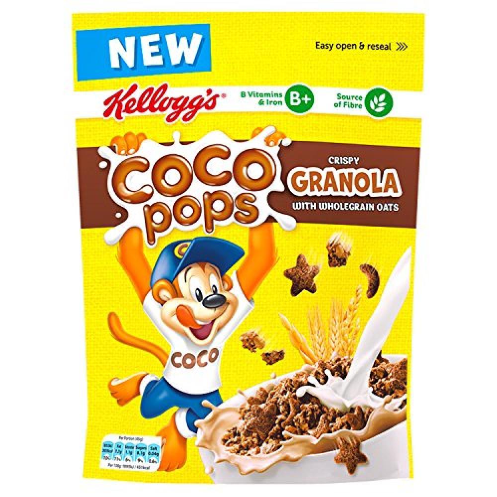 Kelloggs Coco Pops Granola 380g