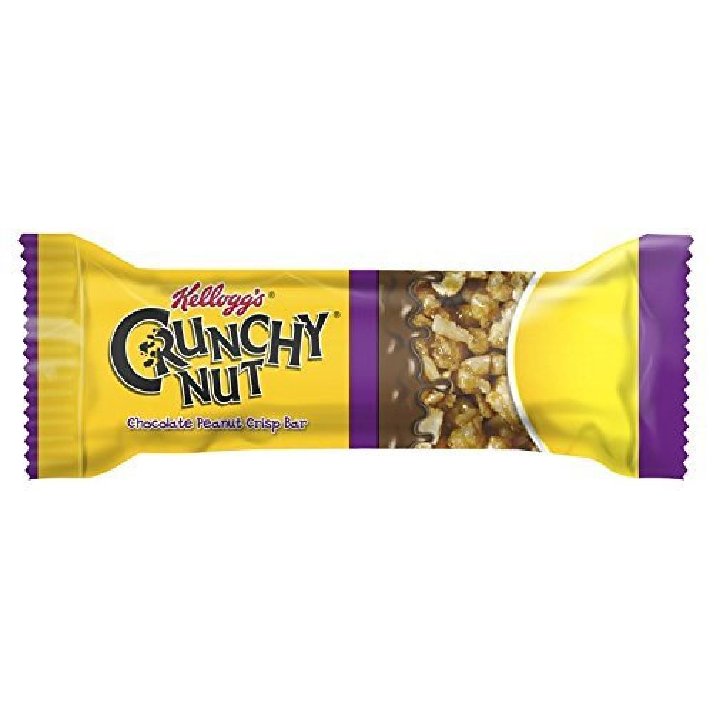 Kelloggs Crunchy Nut Chocolate Peanut Crisp Bar 35g
