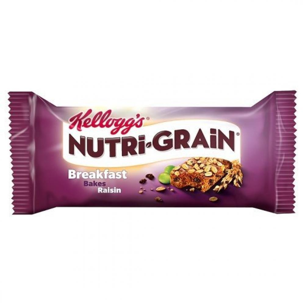 Kelloggs Nutri Grain Breakfast Bakes Raisin 45g