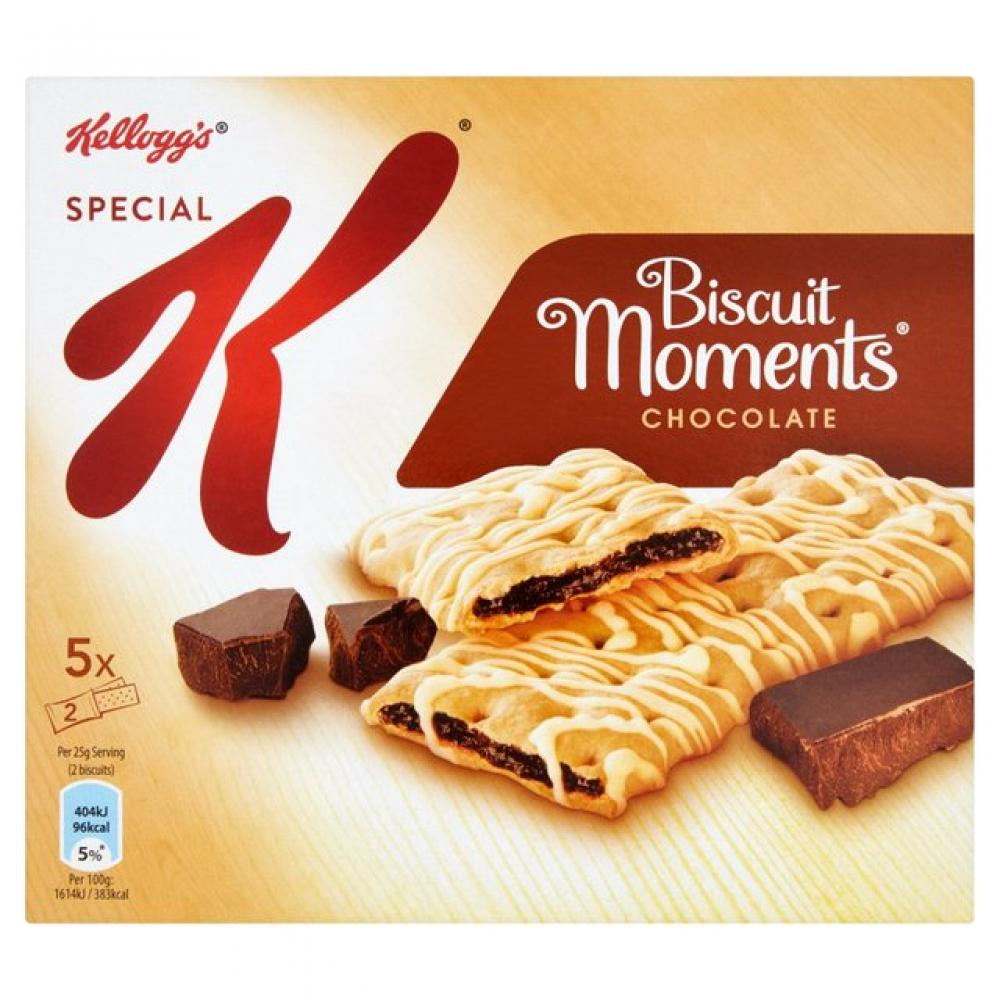 Kelloggs Special K Biscuit Moments Chocolate 25g x 5