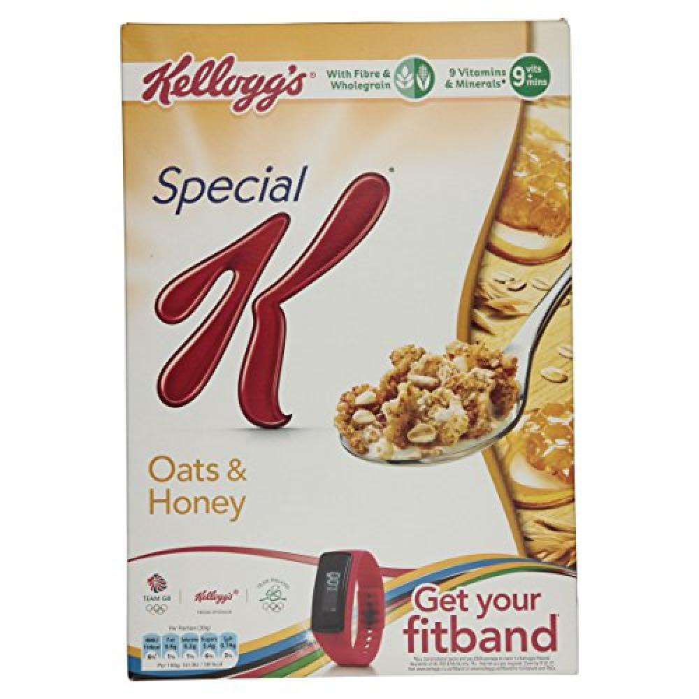 Kelloggs Special K Oats and Honey Cereal 420g