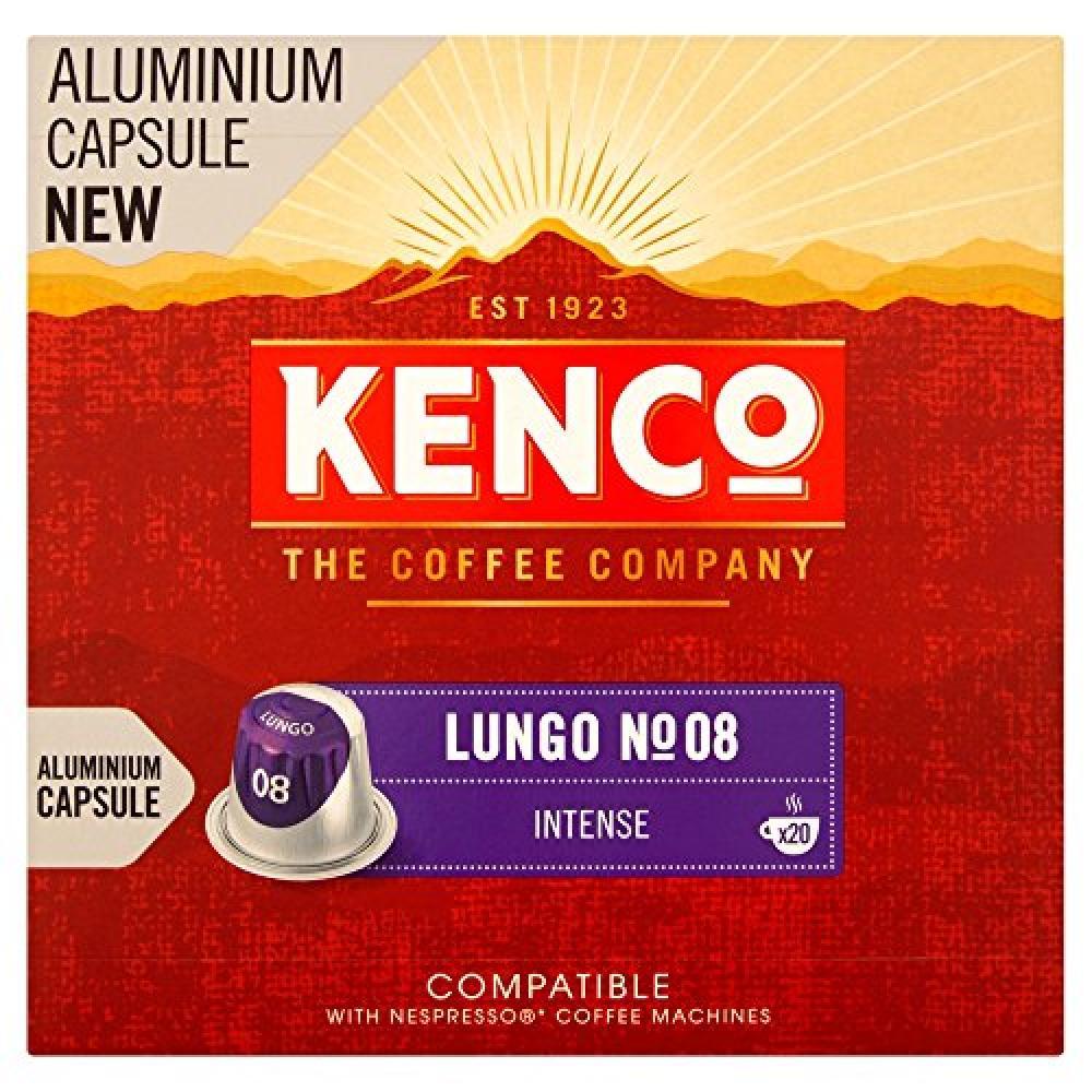 Kenco Lungo Intense - 20 Capsules 104g