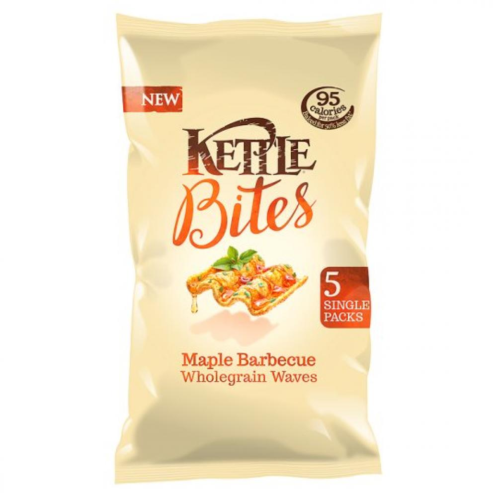 Kettle Bites Maple Barbecue 22g x 5