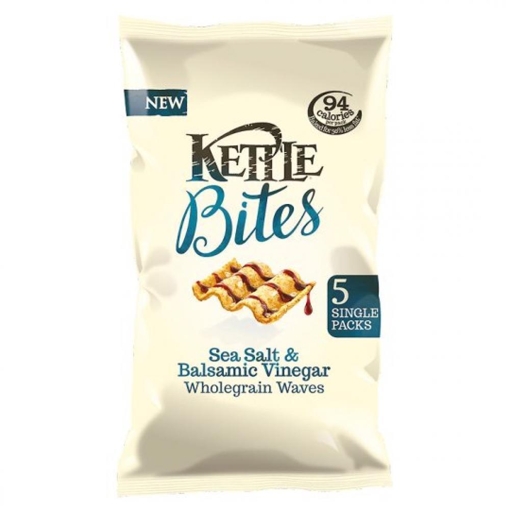 Kettle Bites Sea Salt and Balsamic Vinegar 22g x 5