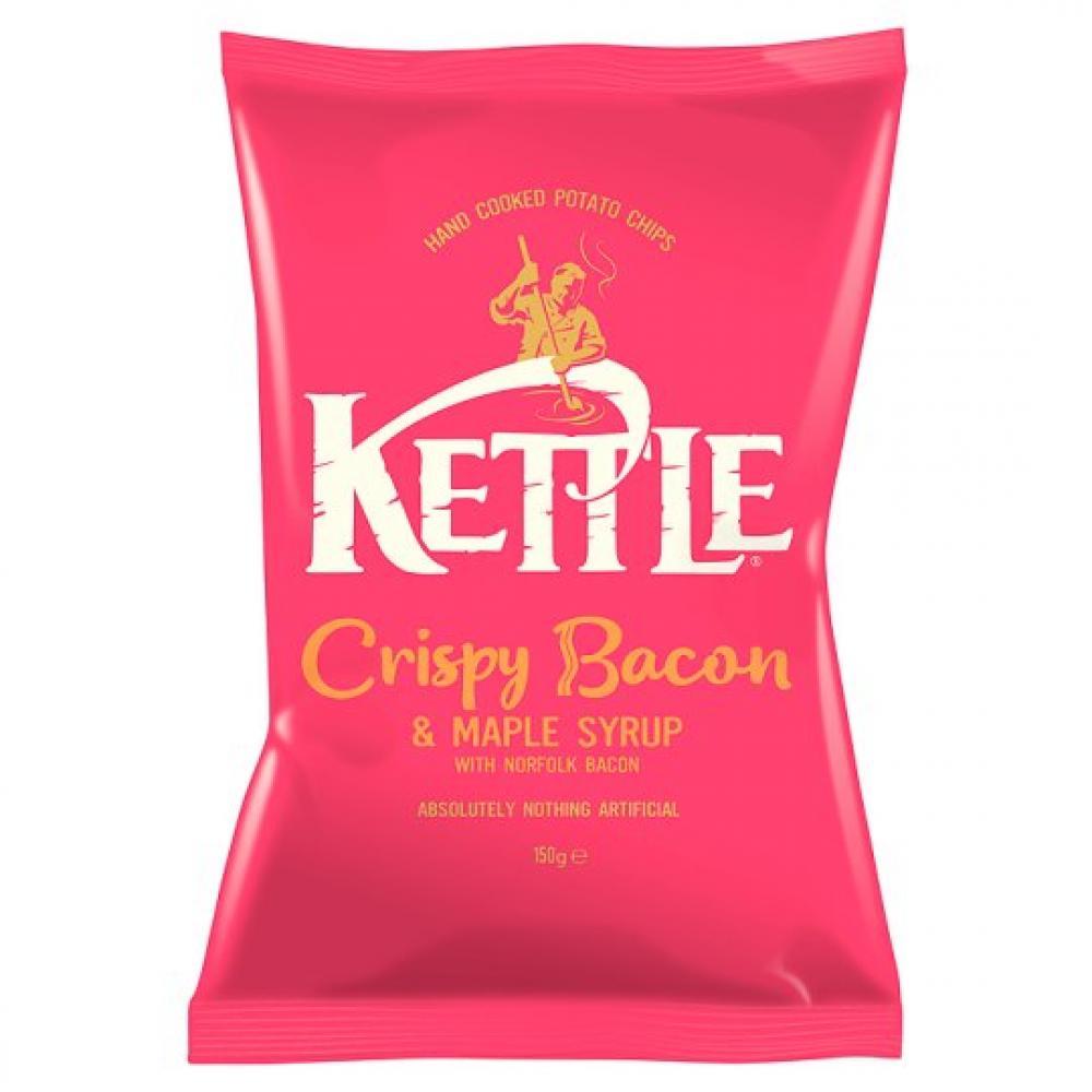 Kettle Chips Crispy Bacon Crisps 150g