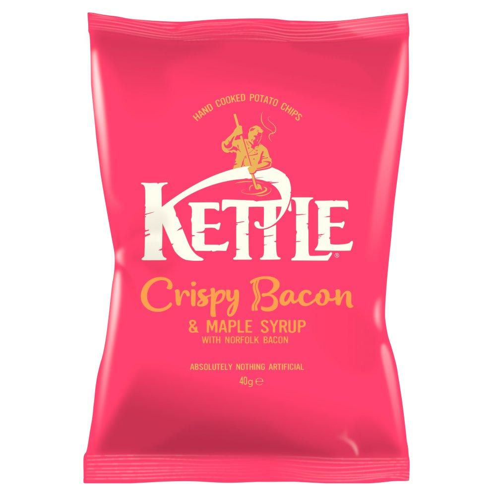 Kettle Chips Crispy Bacon Crisps 40g
