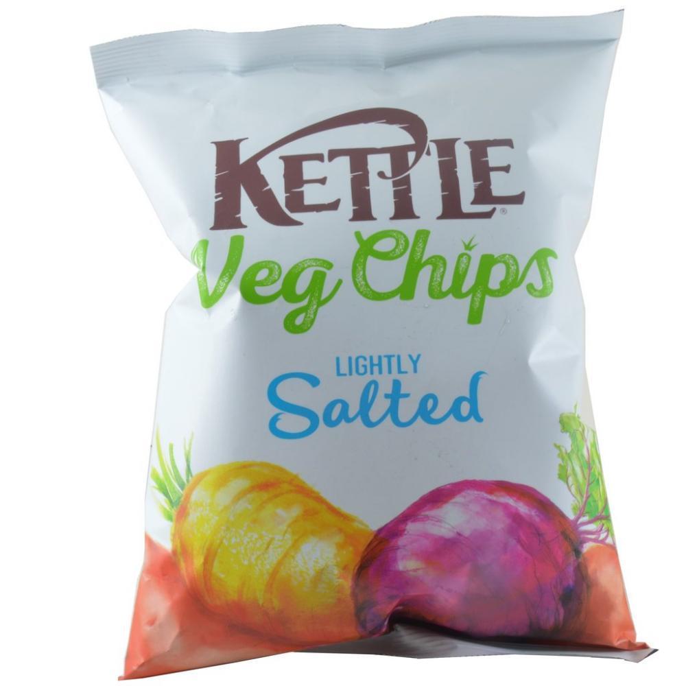 Kettle Veg Chips Lightly Salted 125g