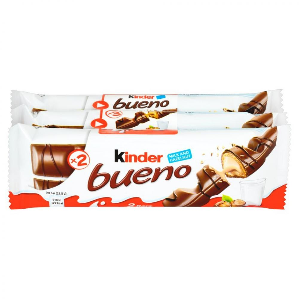 Kinder Bueno Triple Pack 3 x 43g