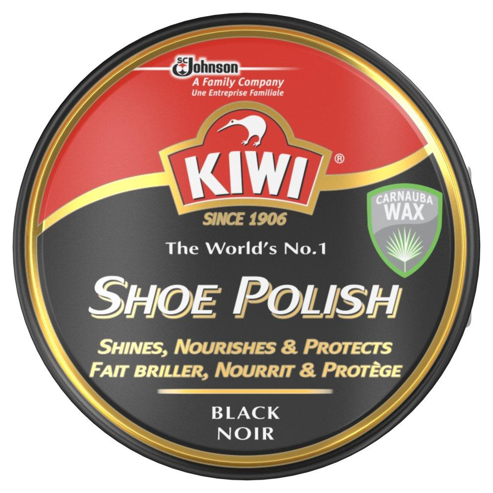 Kiwi Shoe Polish Black Noir 50ml