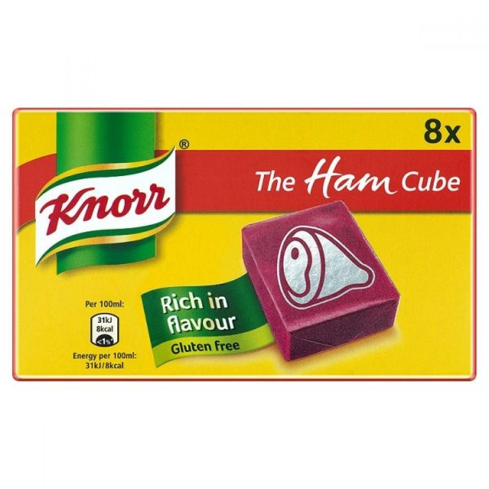 Knorr 8 Ham Stock Cubes 80g