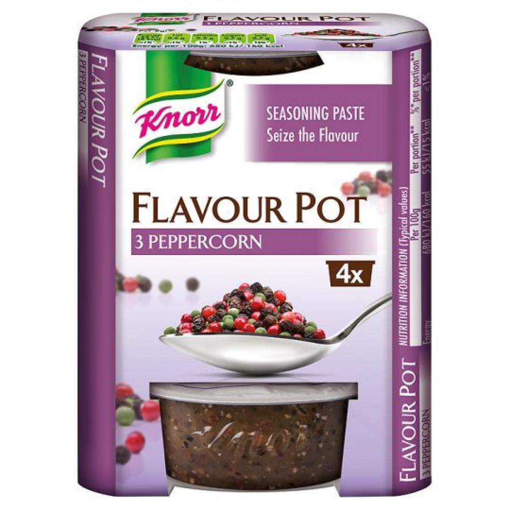 Knorr Flavour Pot 3 Peppercorn 23g x 4