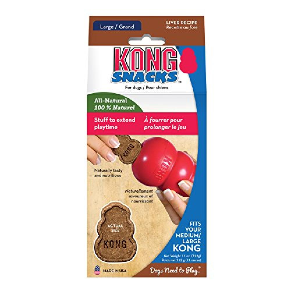 KONG Stuff To Extend Playtime With Natural Chicken Liver 300g