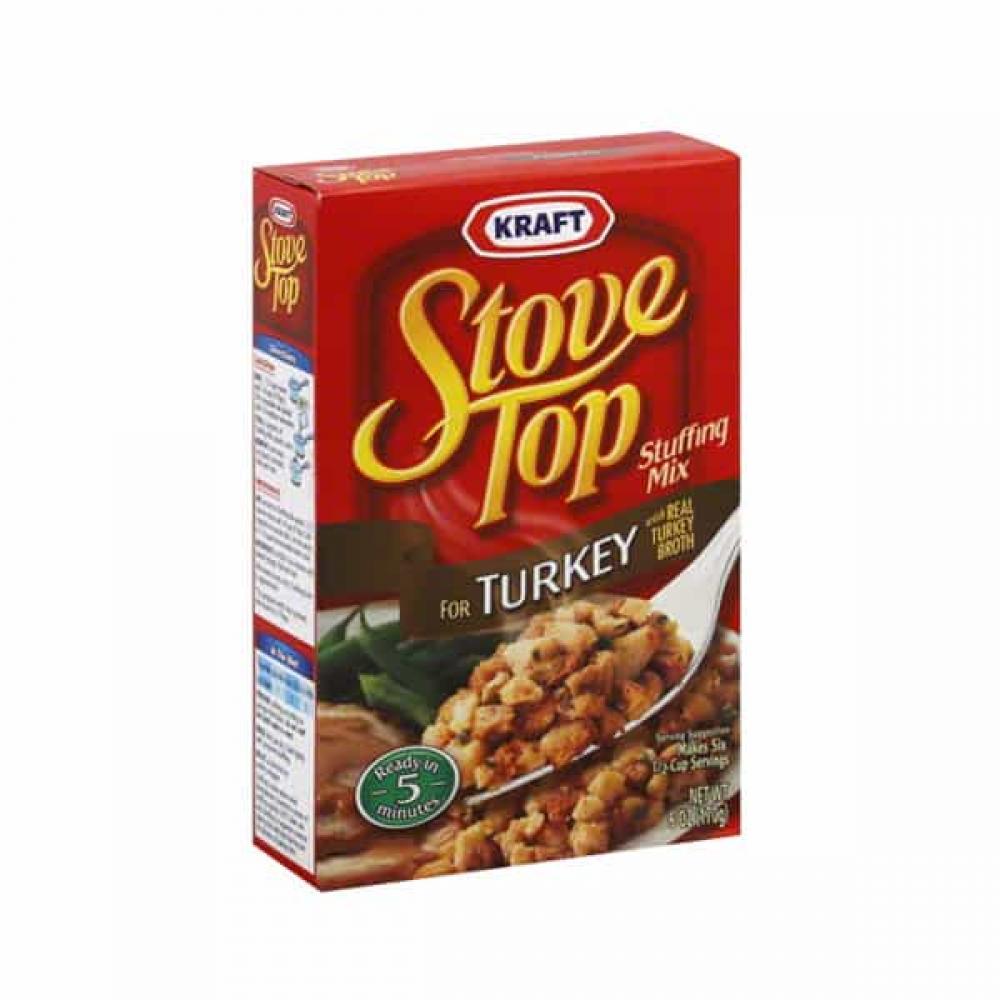 Kraft Stove Top Stuffing Mix For Turkey 170g 170g