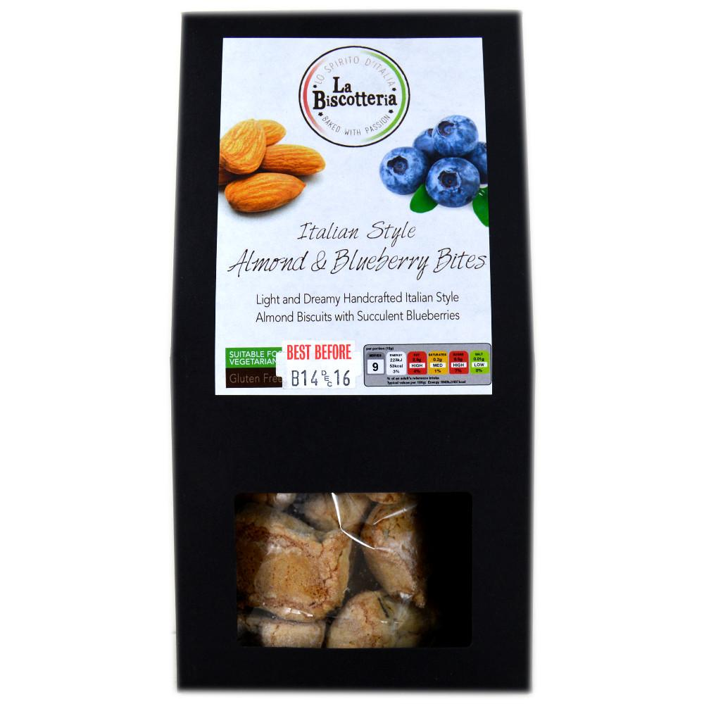 La Biscotteria Almond and Blueberry Bites 100g