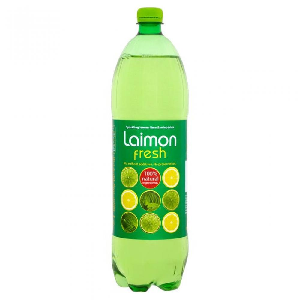 Laimon Fresh Sparkling Lemon Lime and Mint Drink 1500ml