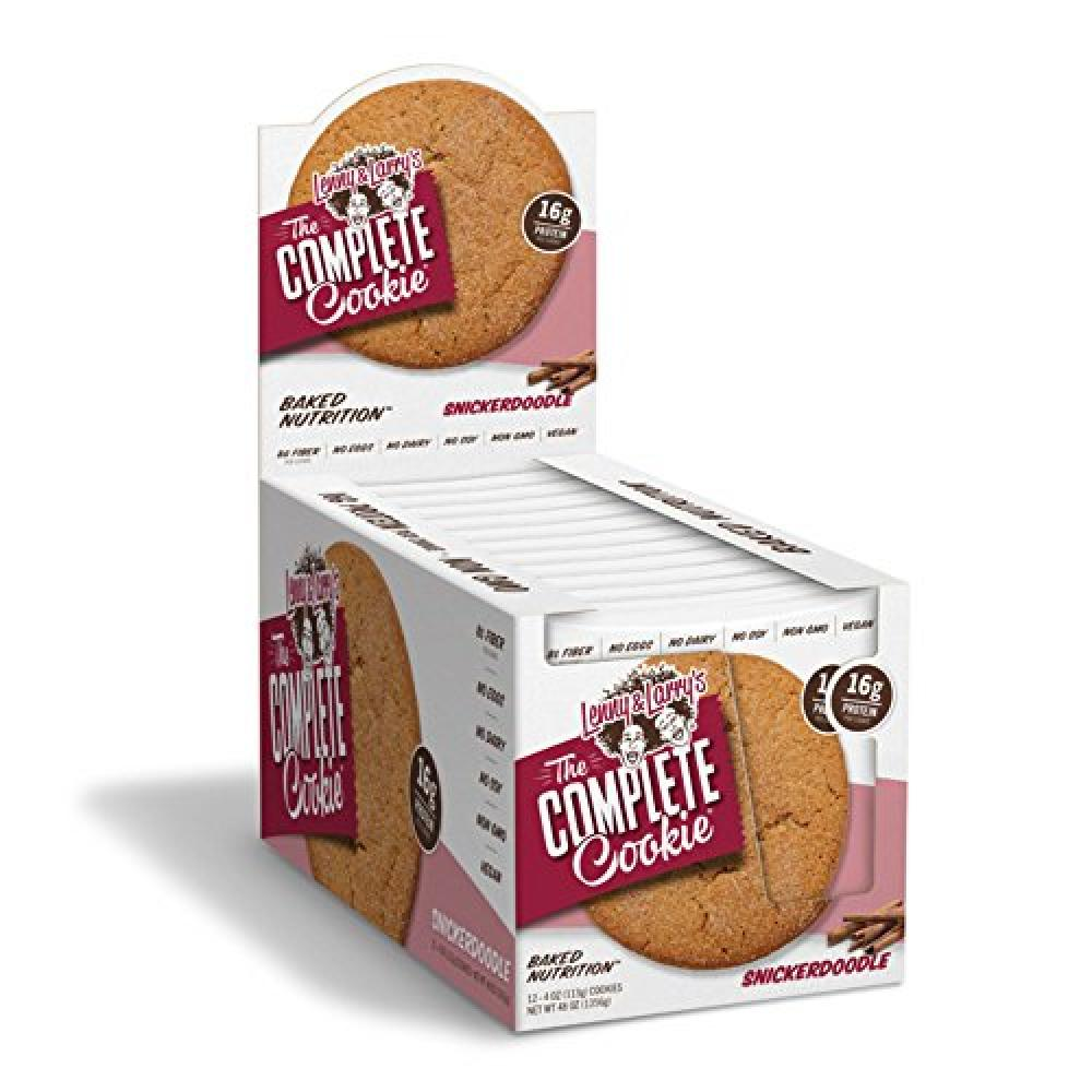 Lenny and Larrys The Complete Snickerdoodle Cookie 113g