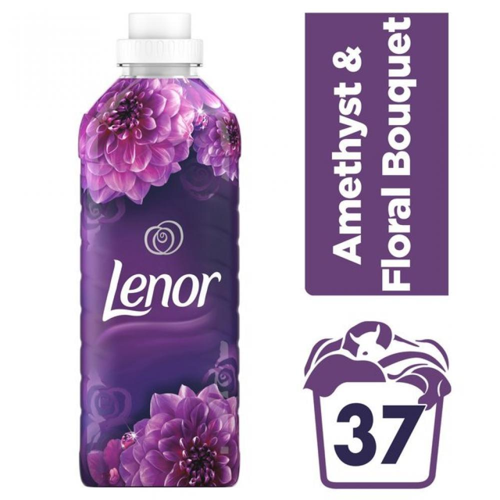 Lenor Amethyst and Floral Bouquet Fabric Conditioner 925ml 37 washes
