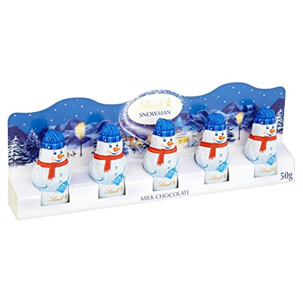 Lindt Mini Snowmen Milk Chocolate Figures 50 g