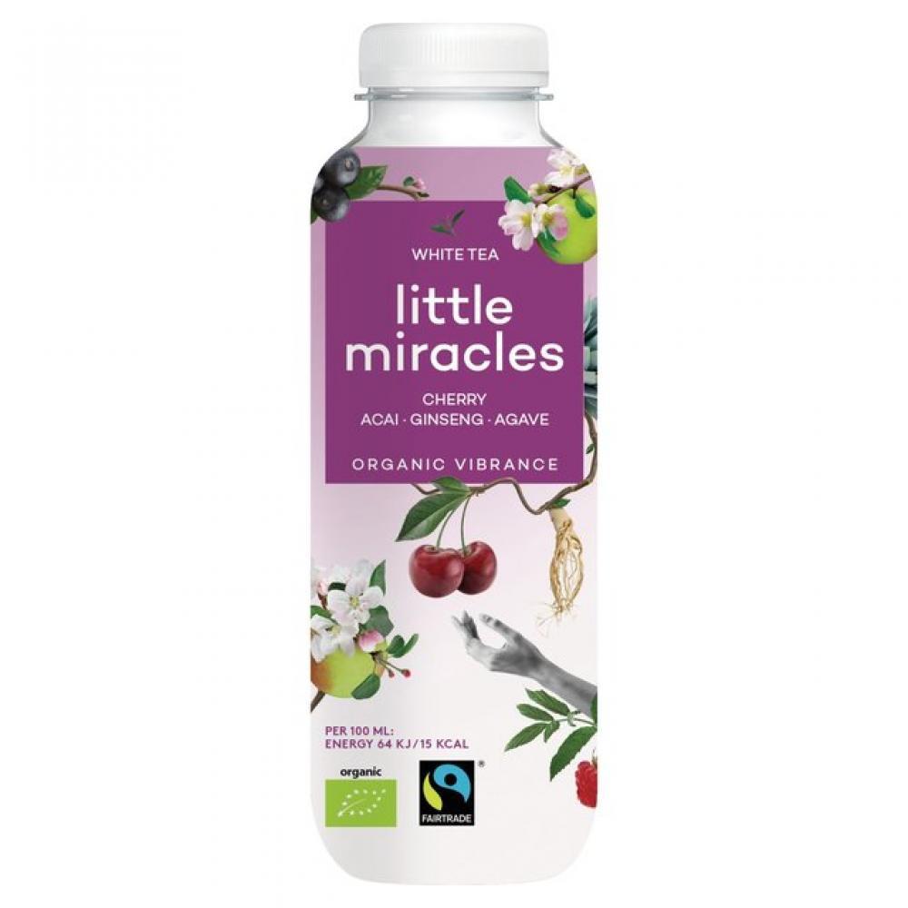 Little Miracles Organic Energiser White Tea 330ml