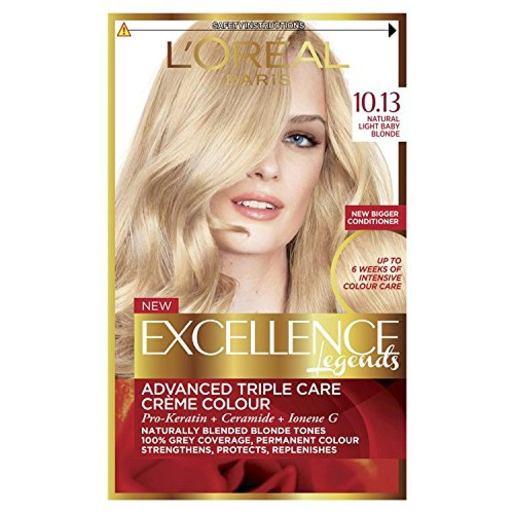 LOreal Excellence Blonde Legend 10.13 Natural Light Baby Blonde