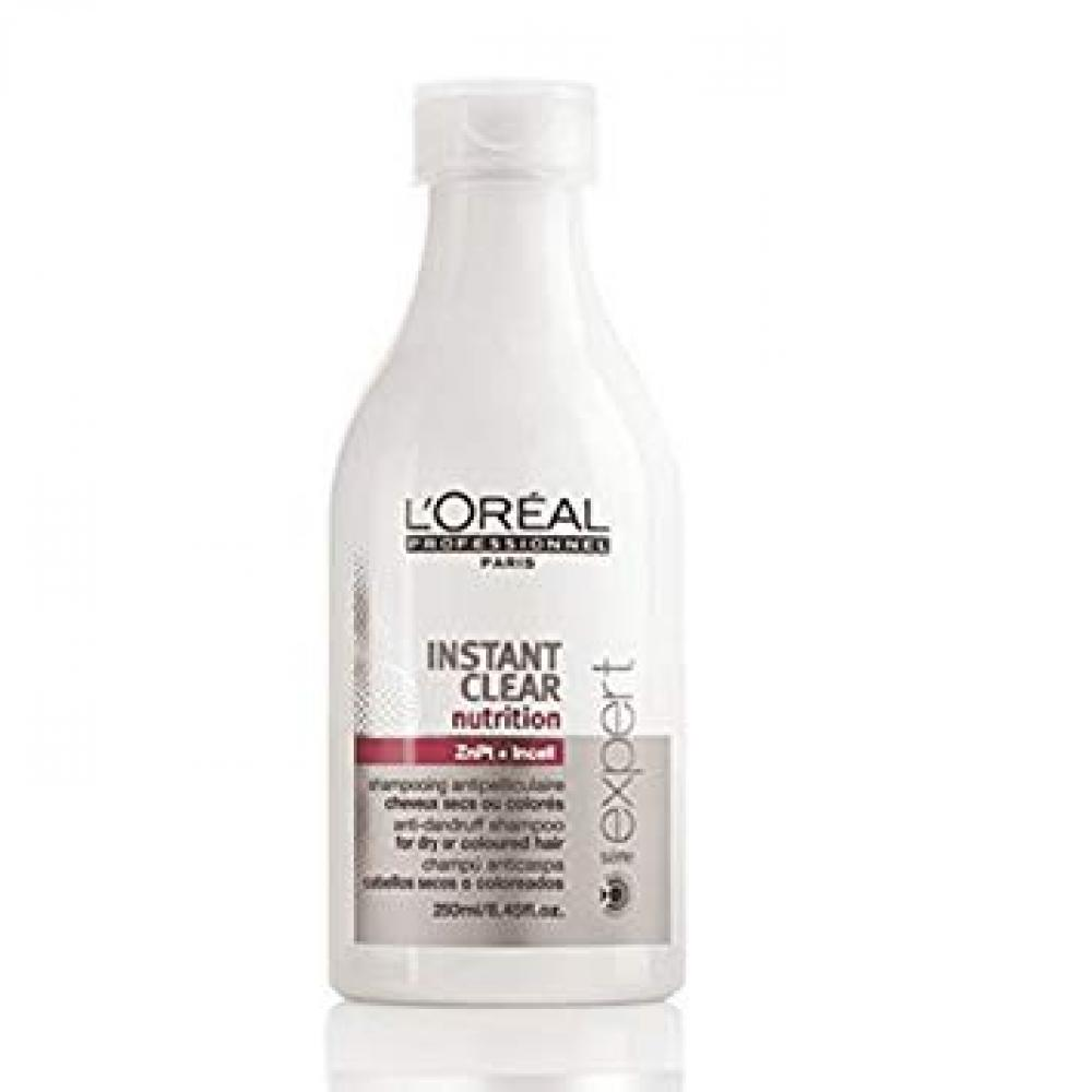 Loreal Instant Clear Shampoo Nutrition Dry To Colored Hair 250ml