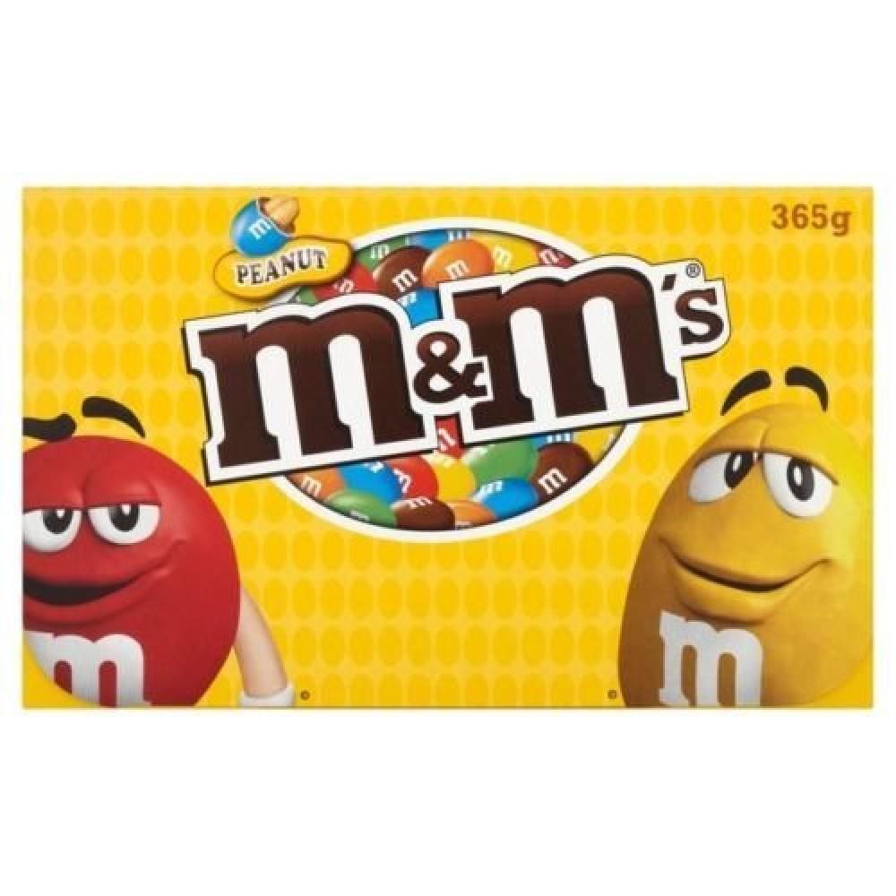 M and Ms Peanut 365g