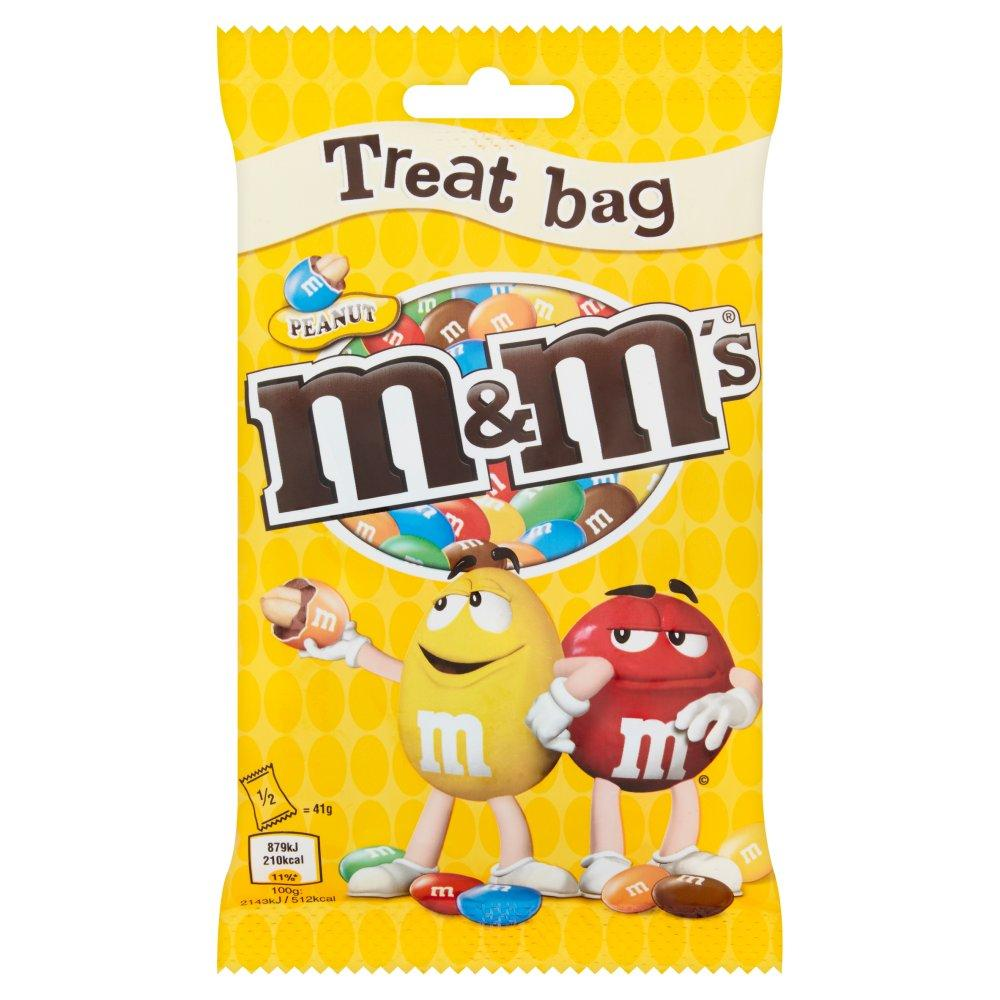 M and Ms Peanut Treat Bag 82g