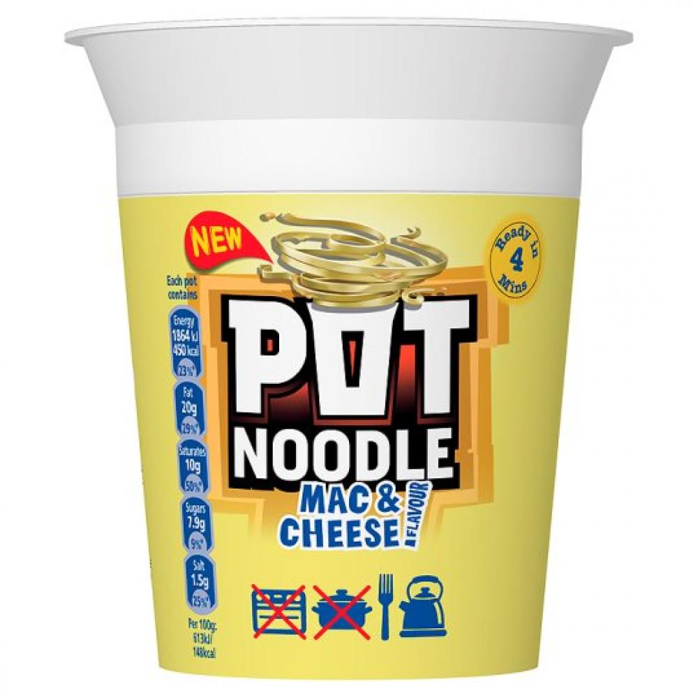 Pot Noodle Mac and Cheese Flavour 90g