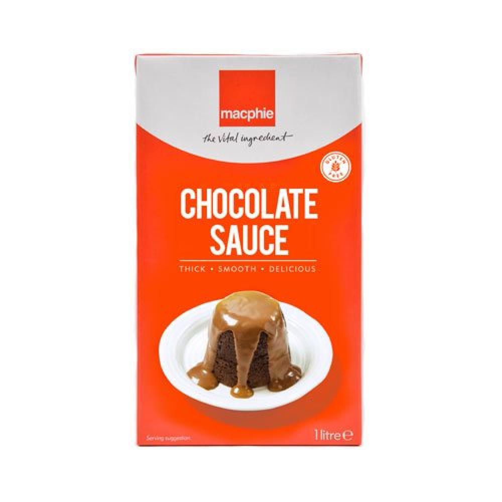 Macphie Chocolate Dessert Topping Sauce