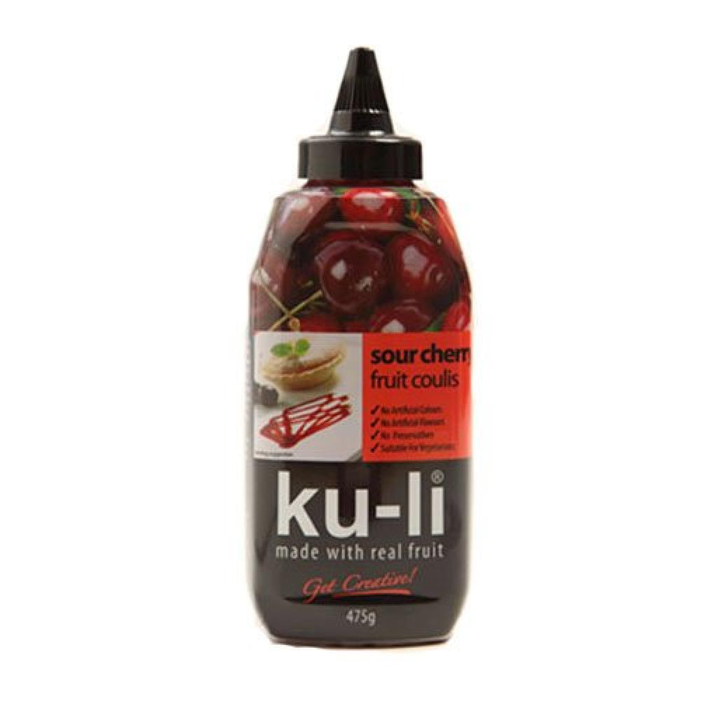Macphie Ku li Sour Cherry Coulis 475 g